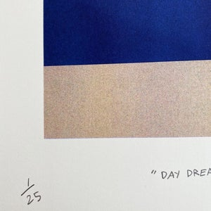 Image of Day Dreaming Sun Risograph by Orn Thongthai