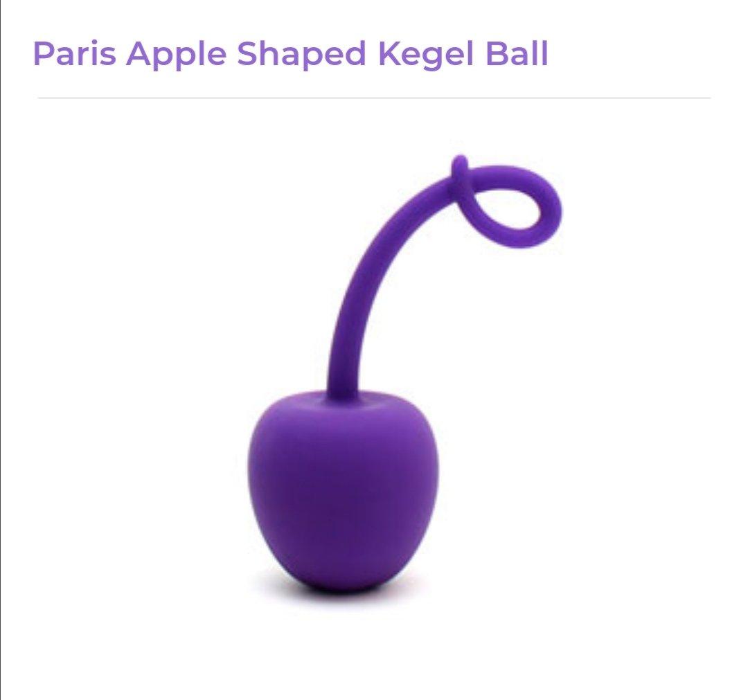 Image of Apple Shaped Kegel Ball