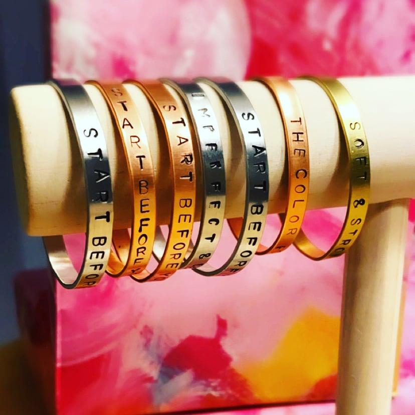 Image of Mantra Bracelet