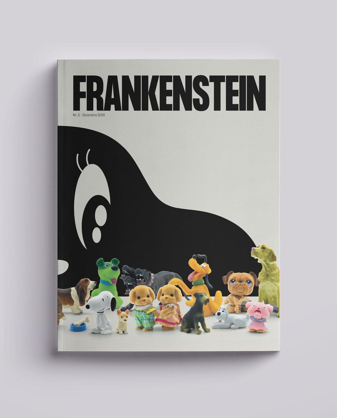 Image of Frankenstein Magazine DUE