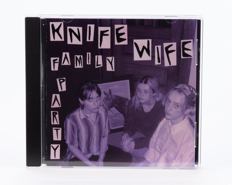 Image of Knife Wife - Family Party EP CD (SPR-034)