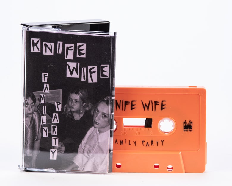 Image of Knife Wife - Family Party EP Cassette (SPR-034)