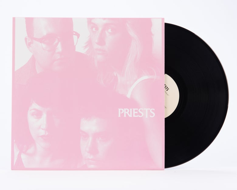 "Image of Priests - Nothing Feels Natural 12"" (SPR - 021)"