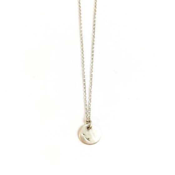 Image of Collier avec pendentif « feather »