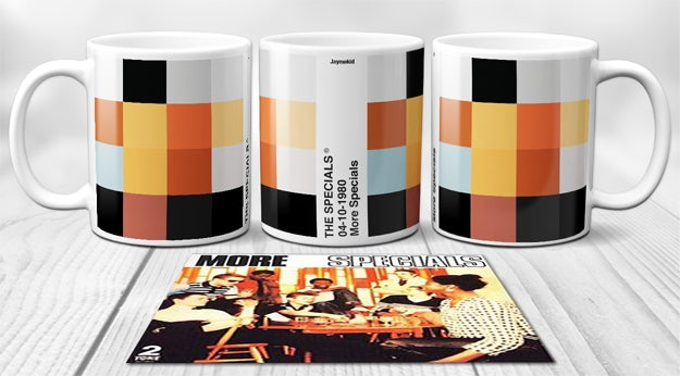 Image of The Specials - PixelPantone  Mugs
