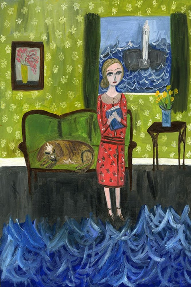 Image of A room of her own. Limited edition print.