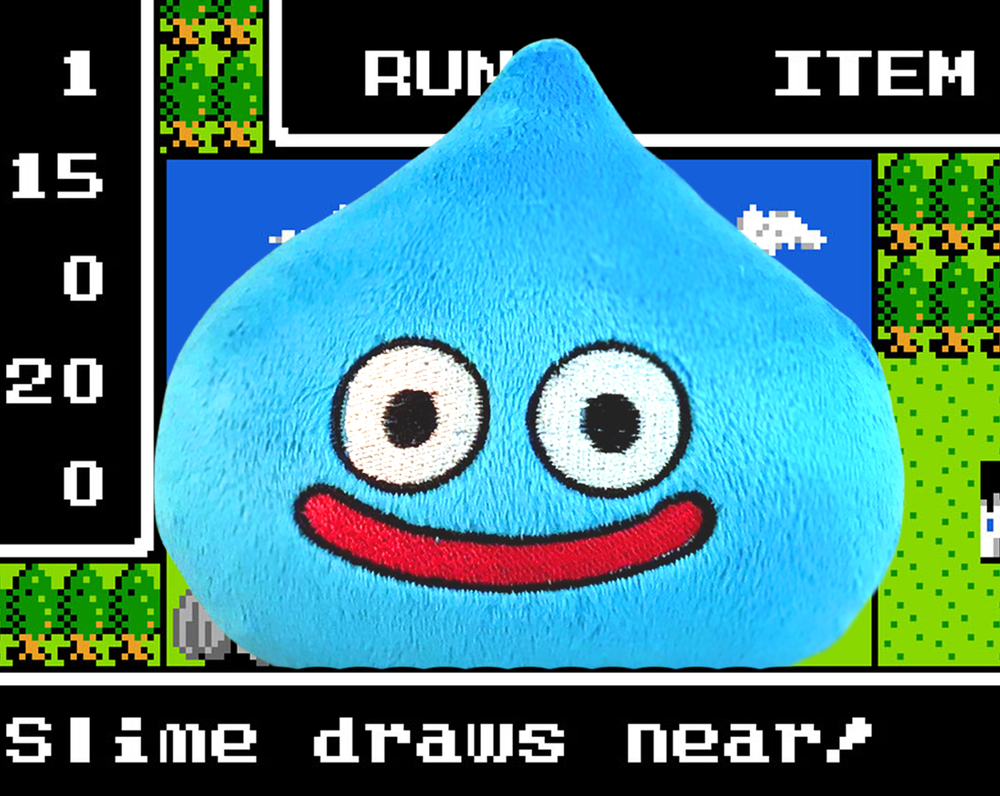 Image of Dragon Quest Slime Plush - Multiple Colour options - Ready to Ship