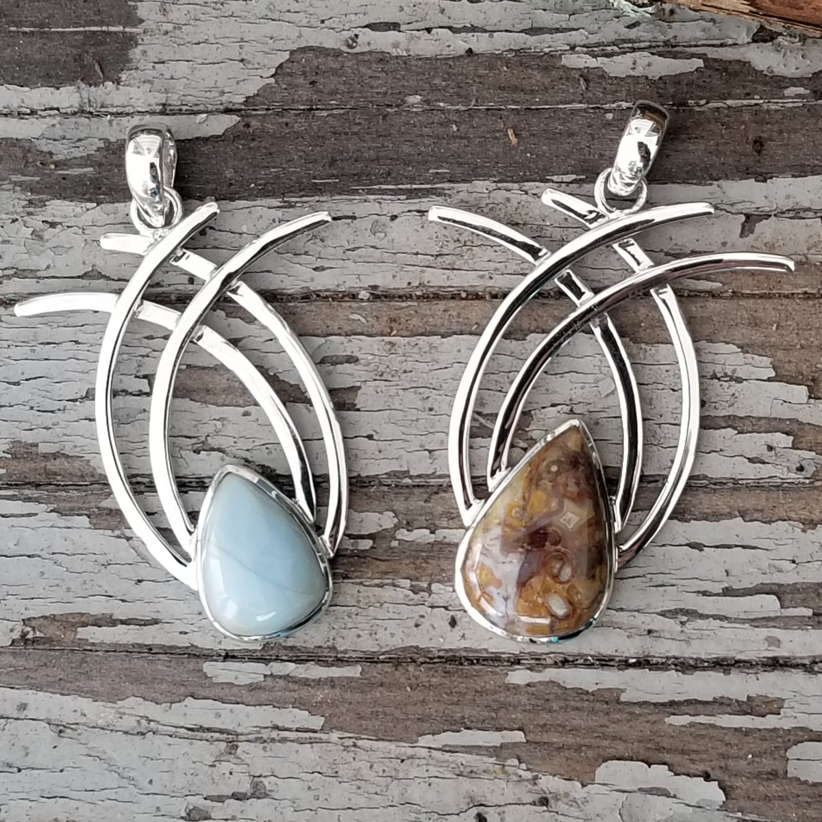Image of Wings Pendant in Sterling