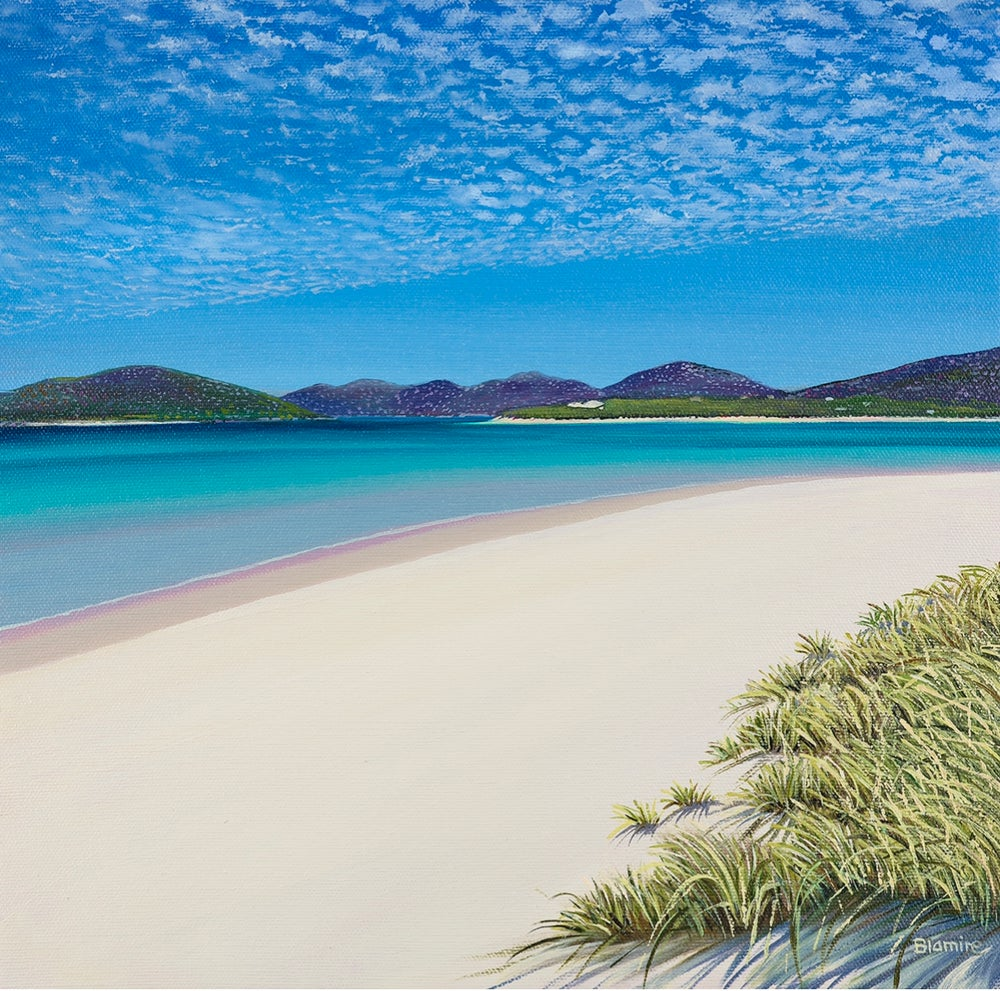 Image of Seilebost paradise giclee print