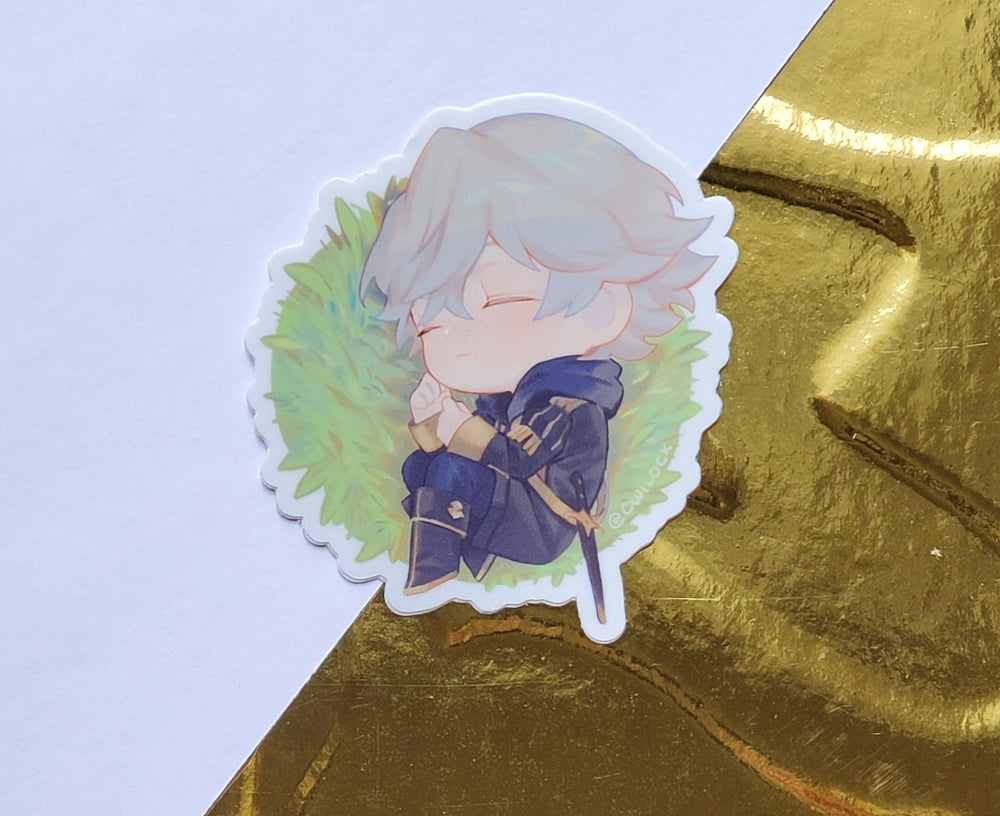 Image of FE3H Sleepy Ashe Sticker