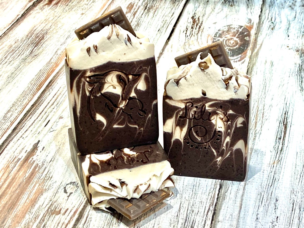 Image of Dark Chocolate Goat Milk Soap