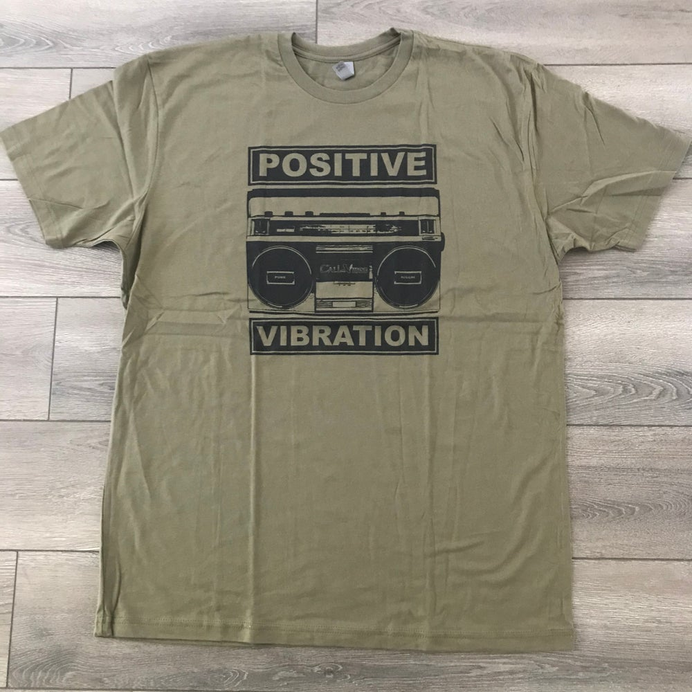 Image of Positive Vibration 2 Military Green Shirt