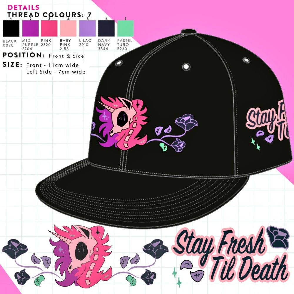 Image of STAY FRESH TIL DEATH CAP
