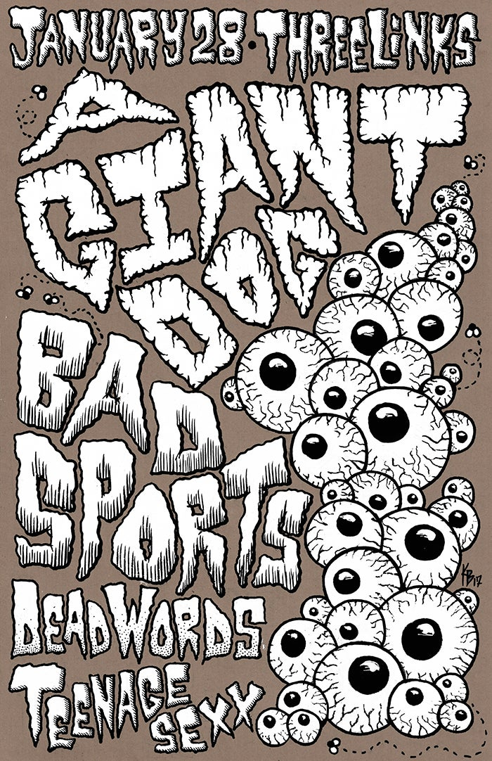 A Giant Dog, Bad Sports 2017