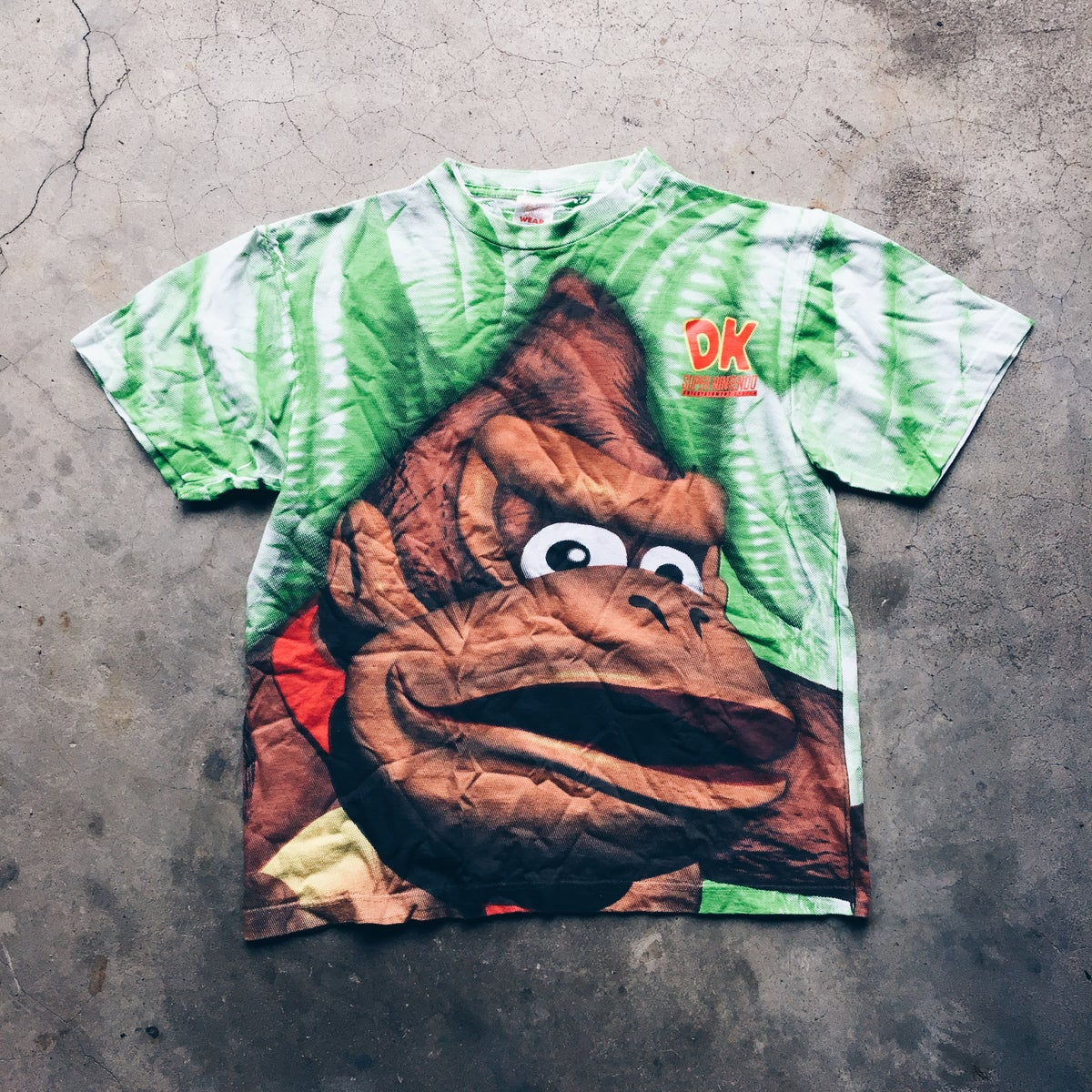 Image of Original 1994 Nintendo Donkey Kong Country Promo Tee.