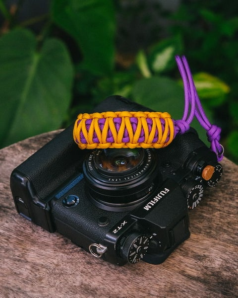 Image of Purple/gold Lakers double strap