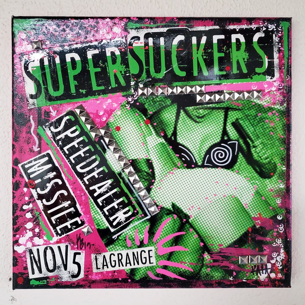 Supersuckers 2012 (11x11 canvas)