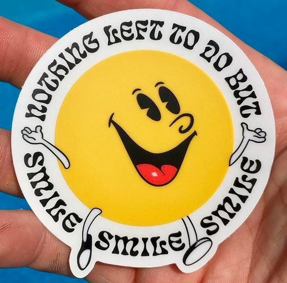 Smile Stickers (2-pack)