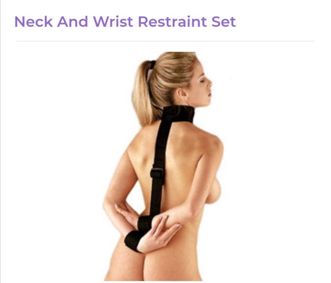 Image of Neck And Wrist Restraint Set