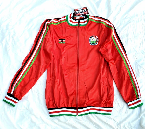 Image of Kenya track jacket Red