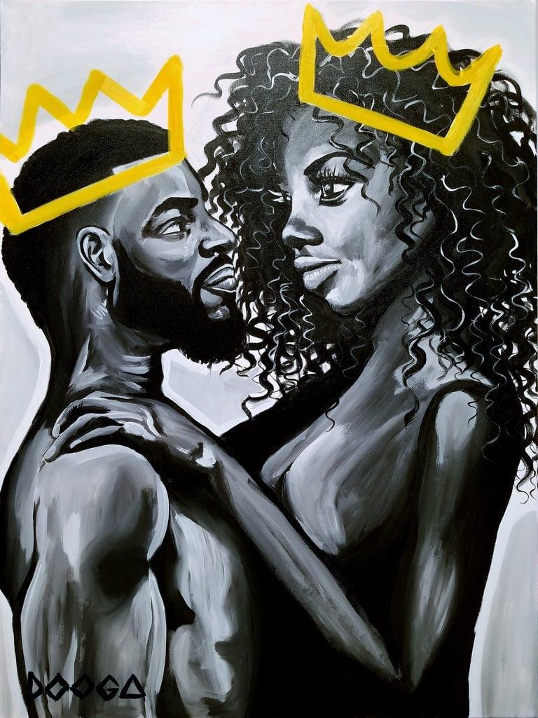 Image of Love - Canvas Print