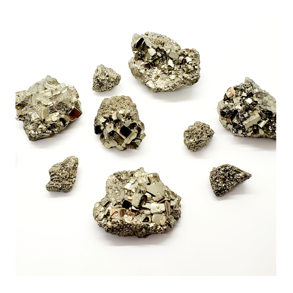 Image of Pyrite Clusters