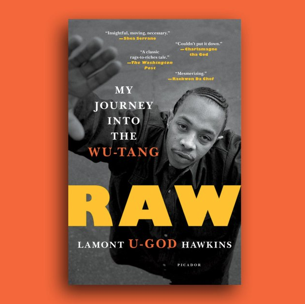 "Image of U-God ""Raw"" My Journey Into The Wu-Tang (Paperback)"