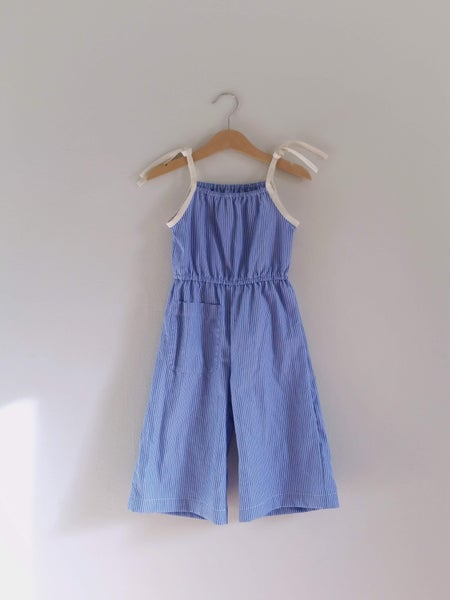 Image of Lake Jumpsuit - OOAK 2/3T