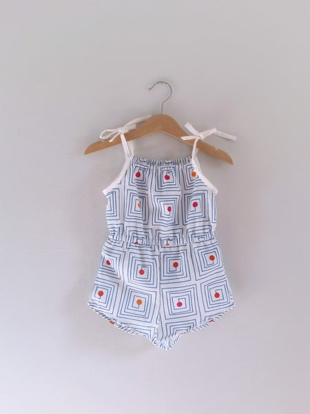 Image of SALE Retro Playsuit - 2/3T