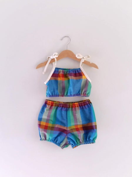 Image of Playsuit Set - Rainbow Brite