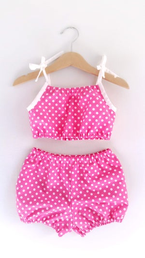Image of Playsuit Set - Pretty in Pink