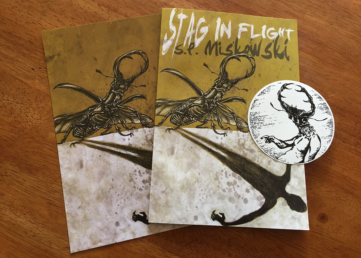 Image of Stag in Flight (S.P. Miskowski)