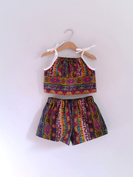 Image of Playsuit Set - Dancing Queen OOAK