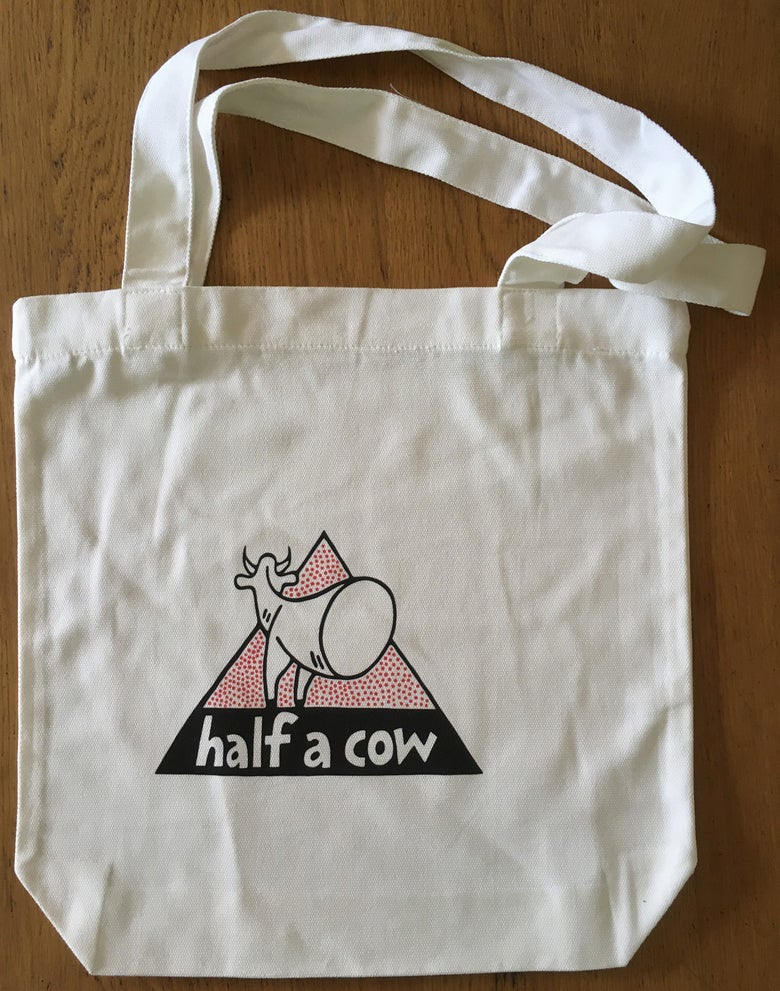 Image of Half A Cow tote bag