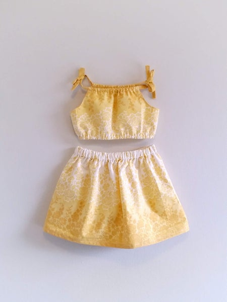 Image of Buttercup Skirt Set - OOAK