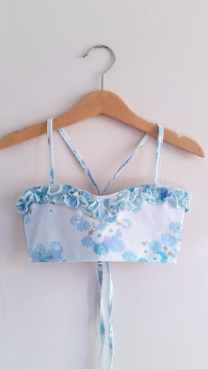 Image of Bluebell Sunsuit - OOAK 3/4T