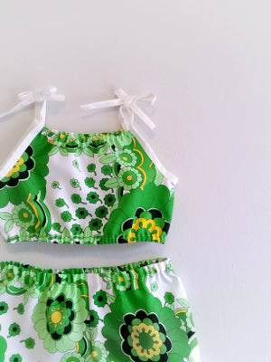 Image of Playsuit Set - Mod Green