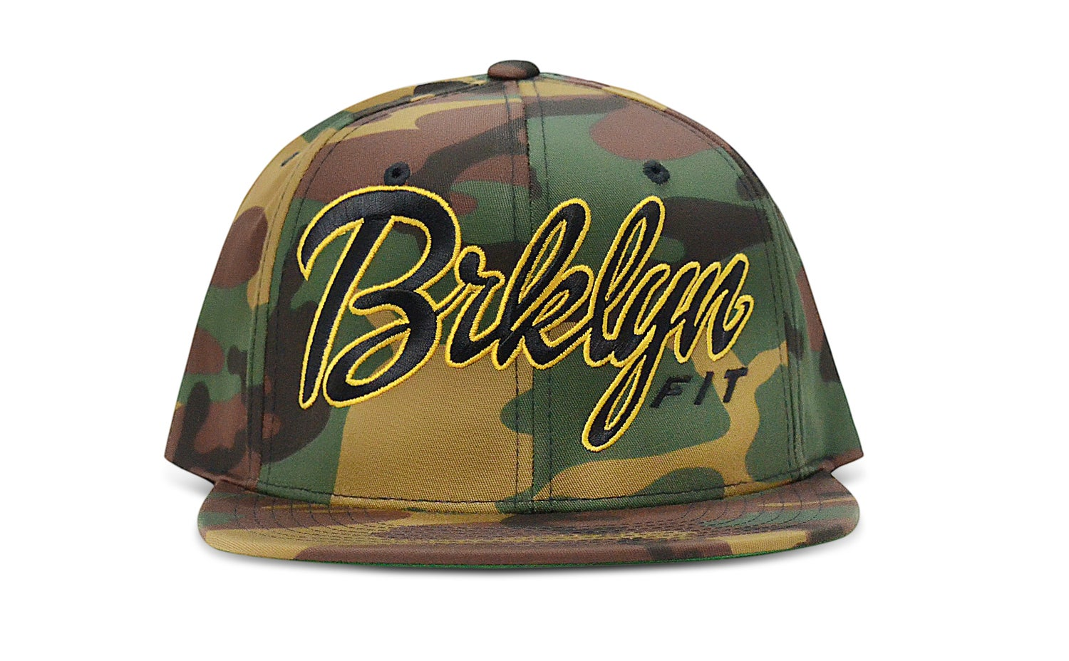 Image of BRKLYN FIT® LOGO (CAMO) - SNAPBACK