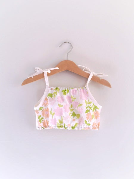 Image of Bloom Play Top - OOAK 12/18m