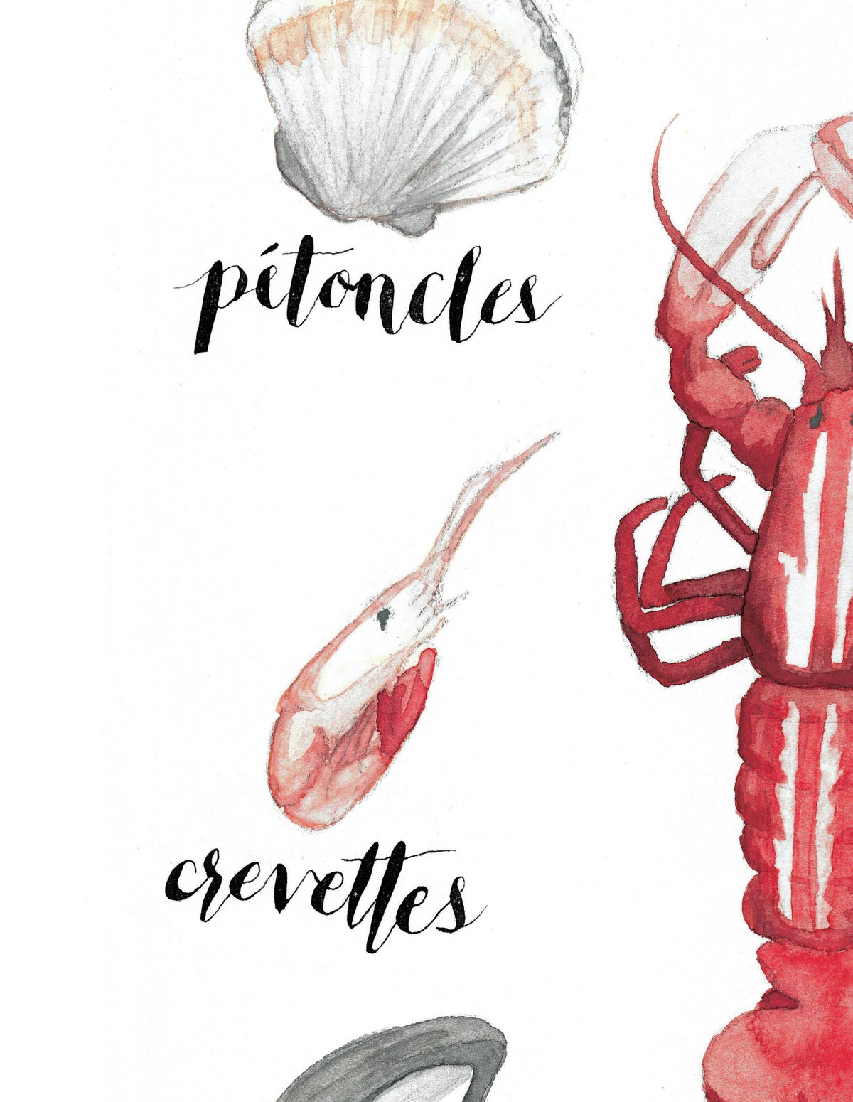 Image of Les Fruits De Mer Print