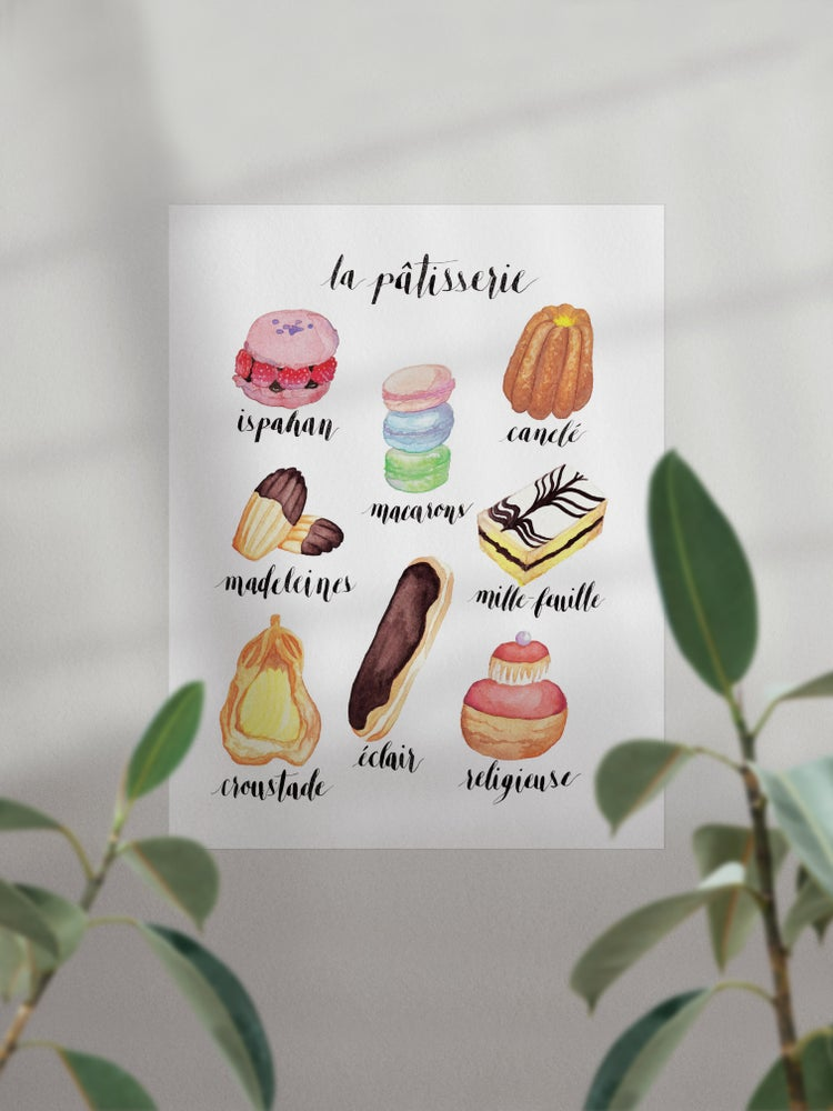 Image of La Patisserie Print
