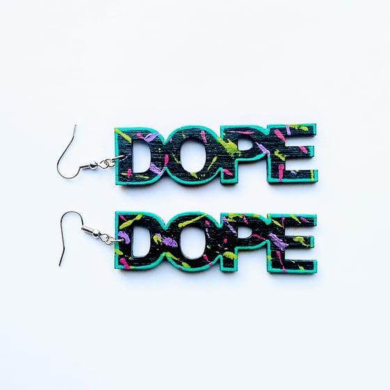 Image of Afro-Pop Graffiti Earrings