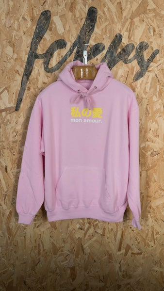 """Image of Sweat """"Mon Amour"""" Rose Pale By FCKRS®"""