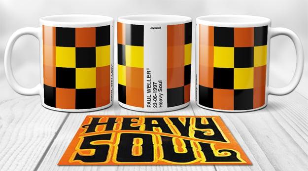 Image of Paul Weller - PixelPantone  Mugs