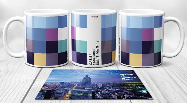 Image of Oasis - PixelPantone Mugs