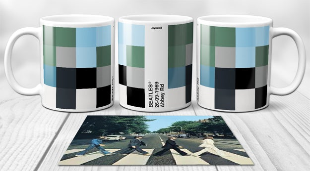Image of The Beatles - PixelPantone Mugs