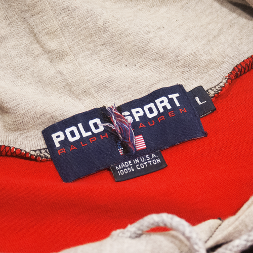 Image of Polo Sport Ralph Lauren Vintage Hoodie Long Sleeve Size L