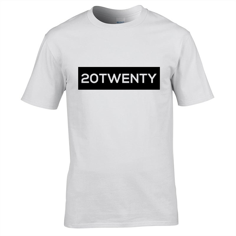 Image of Energy 20Twenty Strip T-Shirt White