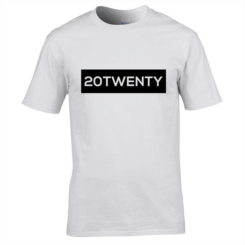 Image of Energy 20Twenty Strip T-Shirt White
