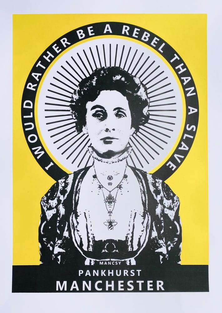 Image of A2 Pankhurst Yellow